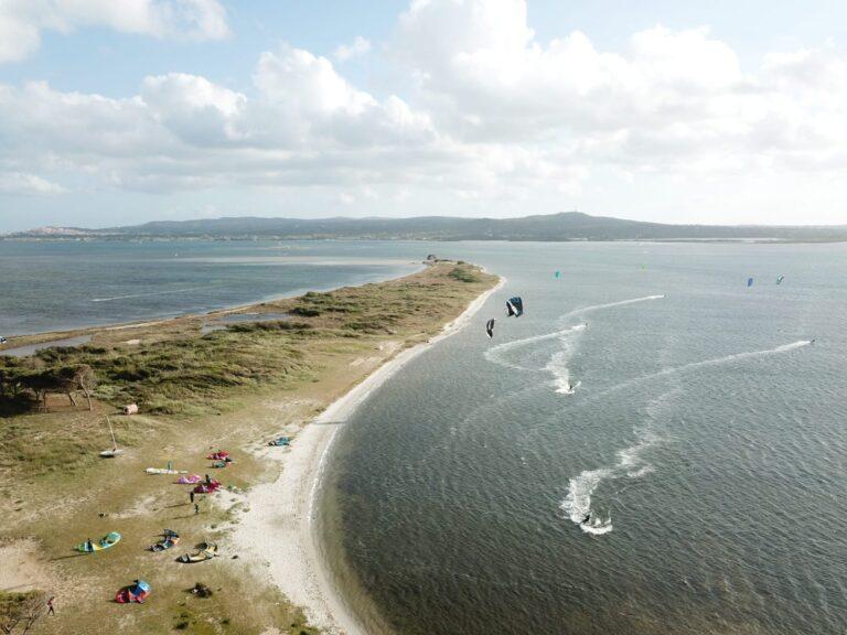 Punta Trettu, the best kite spotil miglior kite spot d'Europa