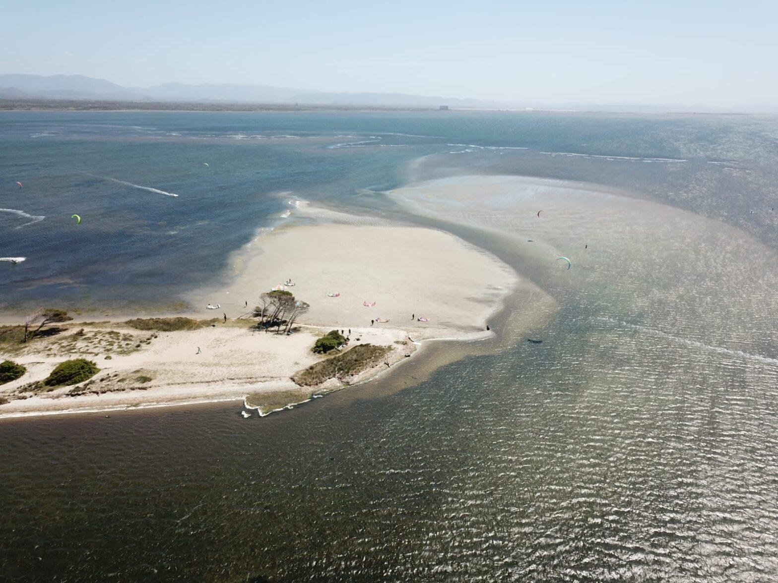 Punta Trettu in Sardegna, il miglior kite spot d'Europa